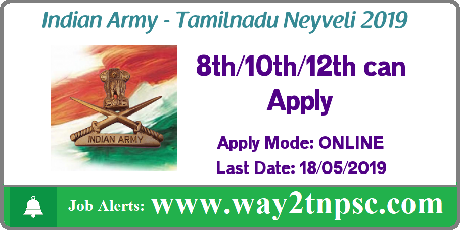 Indian Army Tamilnadu Neyveli Selection Rally 2019